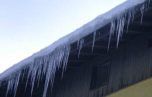 Csatornafűtés a jégcsapok ellen